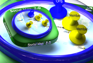 Come straight to the point with Social Map 2.0